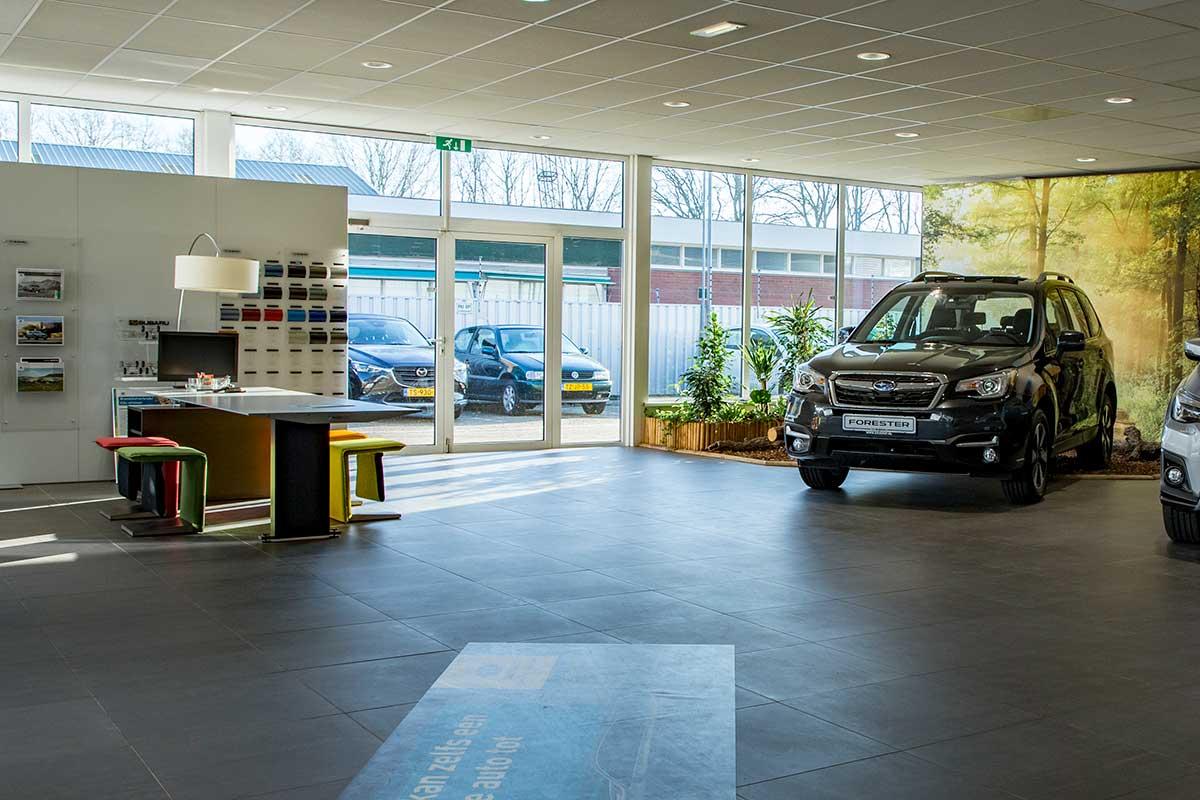 Showroom Subaru Autohuis Eickhof